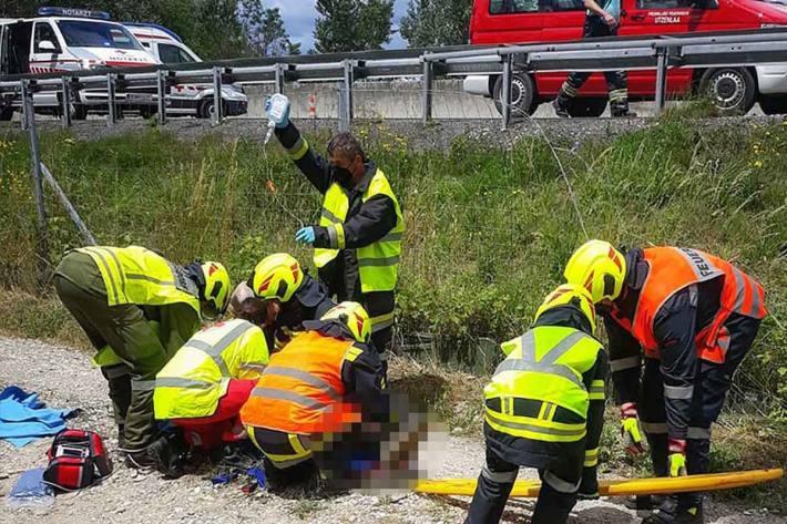 Schwerer Verkehrsunfall mit Todesfolge auf der S5
