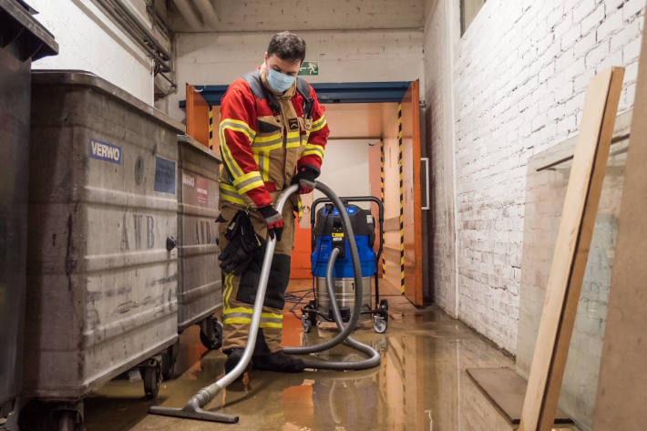 Wasserleitungsbruch löste mehrstündigen Feuerwehreinsatz aus in Bethlehem