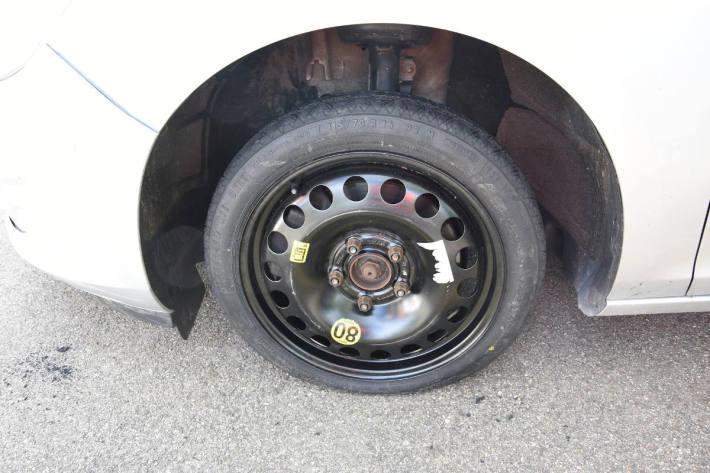 Unfallfahrzeug aus Oberuzwil