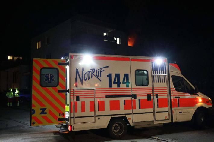 Mann stirbt bei Wohnungsbrand in Steinhausen