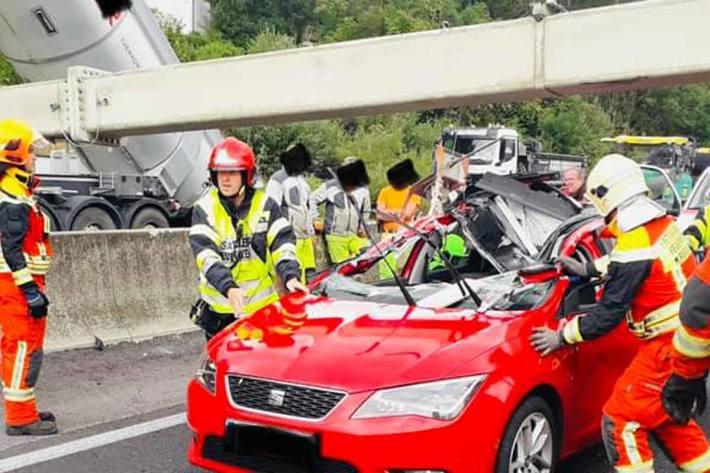 Schwerer Unfall in Wartberg