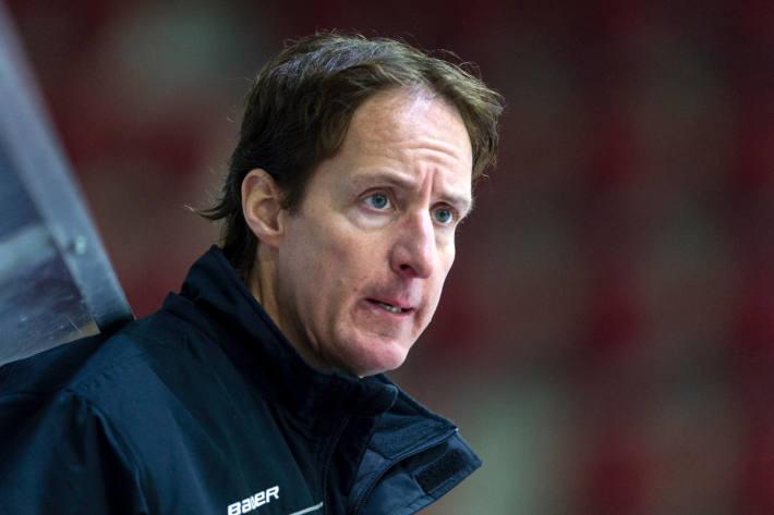 Der ehemalige Cheftrainer vom EHC Winterthur Michael Zeiter