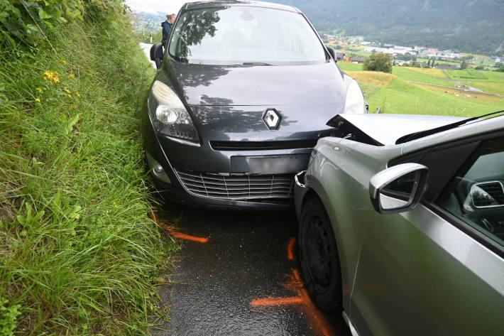 Unfallsituation in Eschen