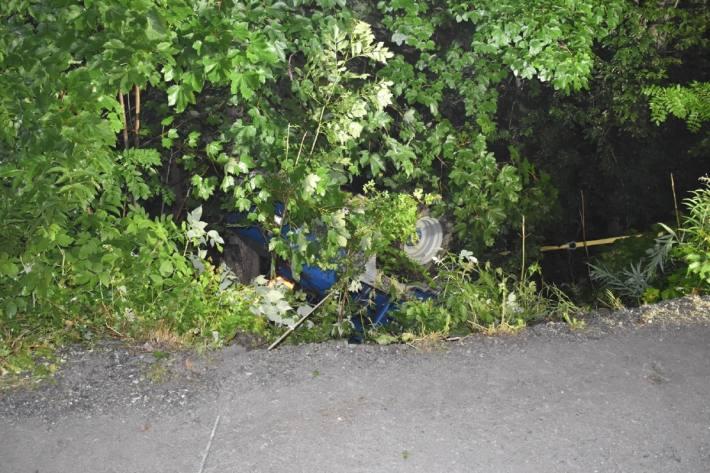 Der Dumperfahrer wurde beim Unfall in Klosters GR eingeklemmt.