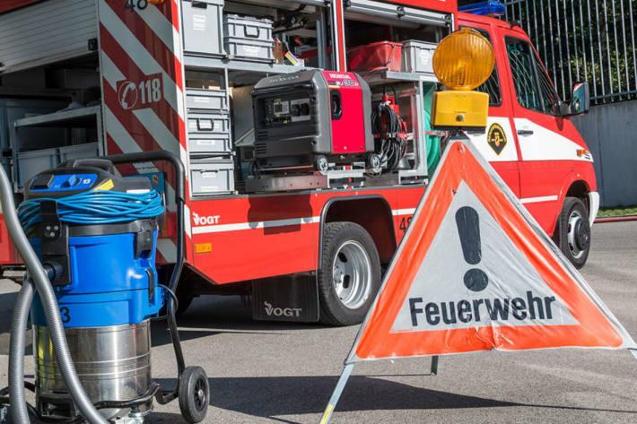 Sperrung einer Tunnelröhre infolge Fahrzeugbrand in Birmensdorf (Symbolbild)