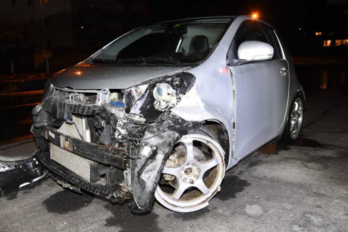 Unfallfahrzeug auf der A15 bei Benken