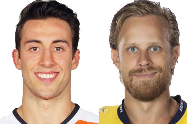 Mattias Tedenby und Aaron Palushaj verstärken die HCD-Offensive.