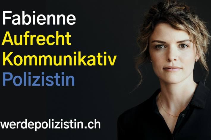 Das aktuelle Sujet der aktuellen Werbekampagne des Ostschweizer Polizeikonkordats.