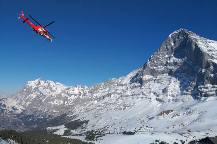 Einsatz in der Eiger-Nordwand