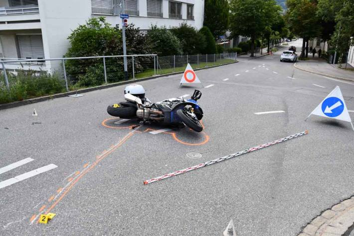 Unfall in Chur