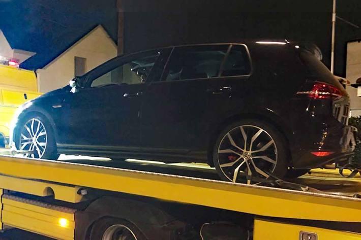 Auto in Recklinghausen beschlagnahmt