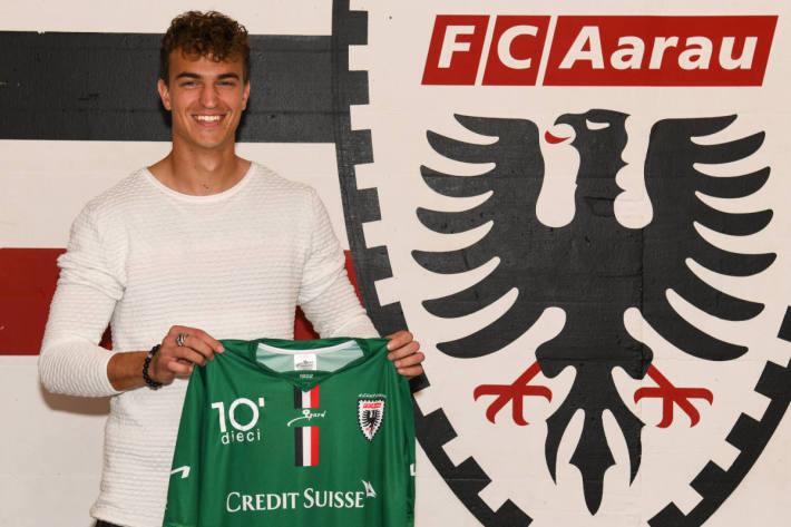 Keeper Rafael Zbinden beim FC Aarau