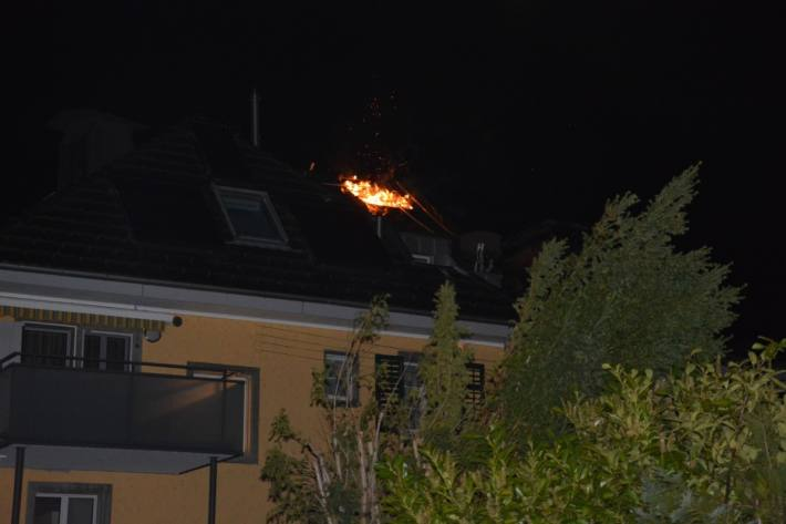 In Olten SO brannte es erneute in der gleichen Liegenschaft.