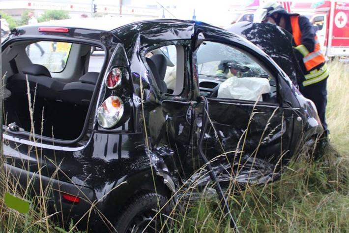 Unfall mit mehreren Verletzten in Düren