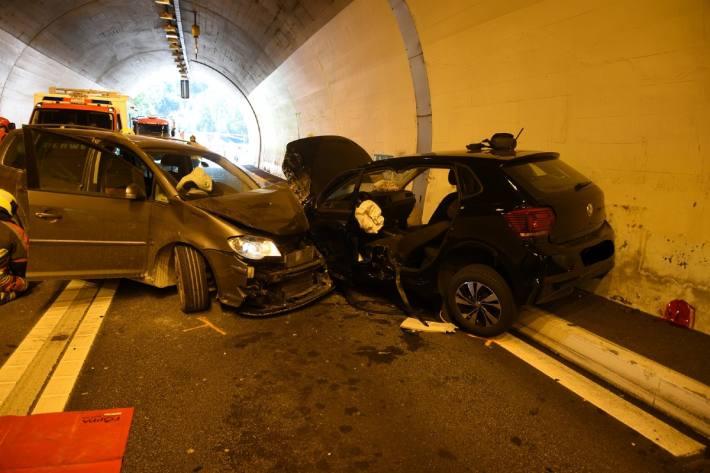 In Zillis GR kam es gestern zu einem schweren Verkehrsunfall.