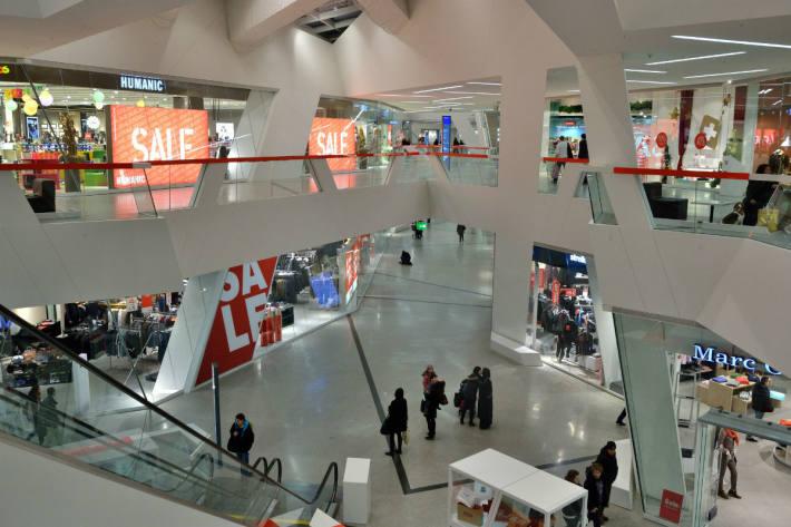 Einkaufszentrum Westside in Bern.