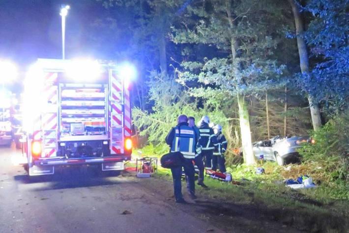 Unfallort an der Schälkstraße in Iserlohn