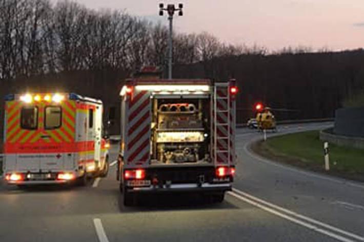 Tödlicher Unfall zwischen Norken und Unnau