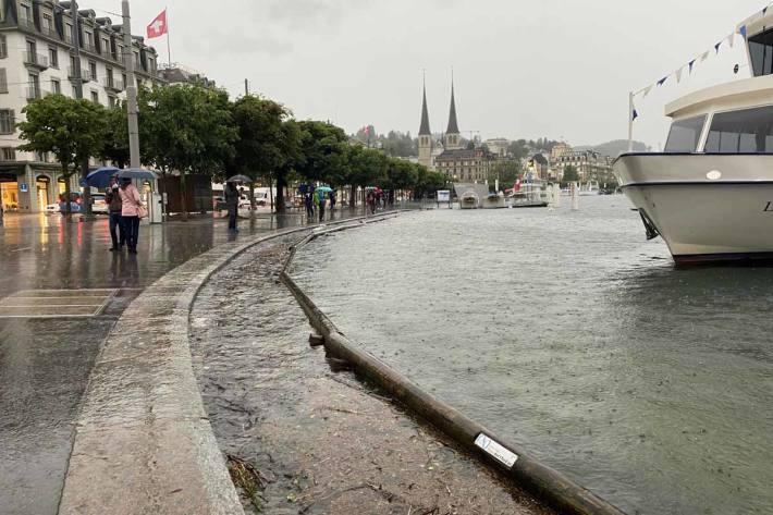 Da ein Hochwasser wie 2005 nicht mehr ausgeschlossen werden kann, werden weitere Massnahmen vorbereitetet