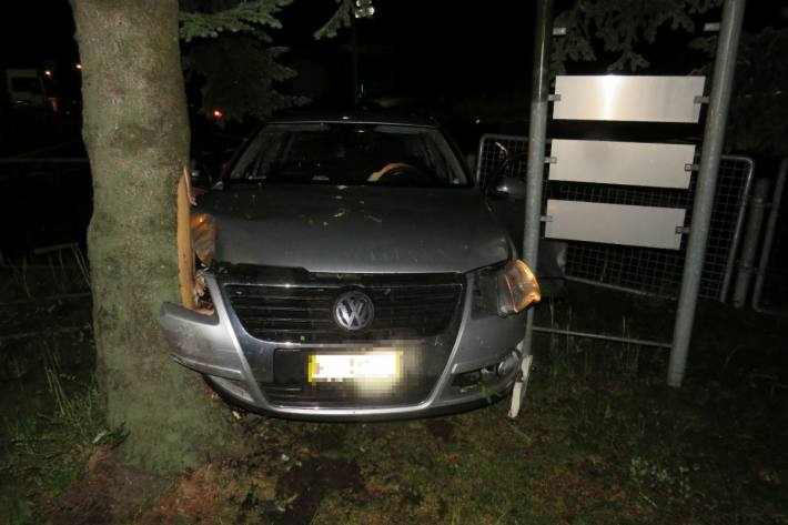 In Bilten GL kam es zu einem heftigen Crash.