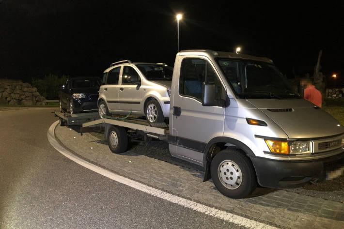 24-jähriger Chauffeur mit gefährlichem Gespann in Widnau unterwegs