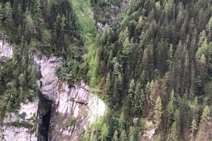 Beim Canyoning-Drama in Vättis vom 12.08.2020 kamen vier spanische Touristen ums Leben.