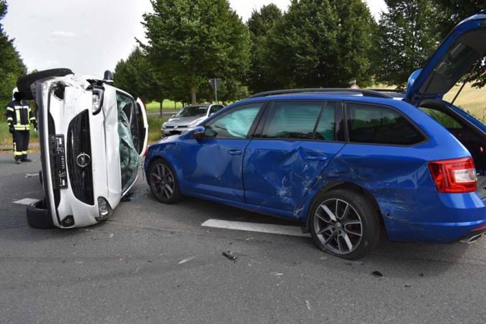 Gestern ereignete sich in Elze ein Verkehrsunfall