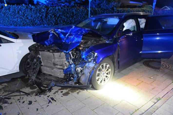 Verkehrsunfall unter Alkoholeinfluss in Bünde