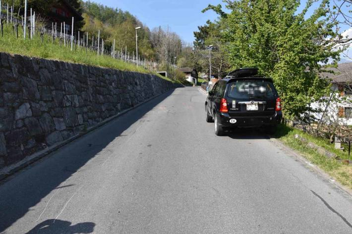 Der 21-jährige Unfallverursacher war in Azmoos nicht im Besitz des erforderlichen Führerausweises
