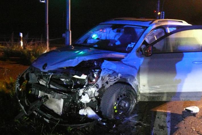 Am Unfall beteiligtes Fahrzeug