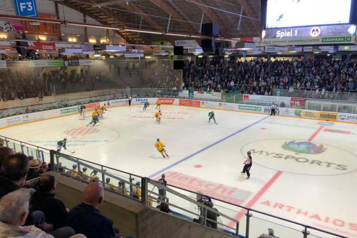 Derby zwischen dem EHC Olten und dem SC Langenthal
