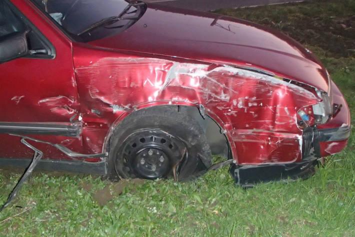 Ein Unfallbeteiligter wurde ermittelt.