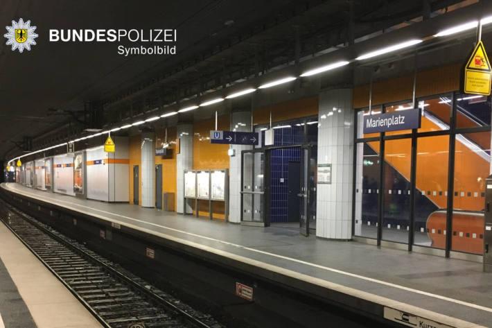 Symbolbild S-Bahnhaltepunkt Marienplatz in München