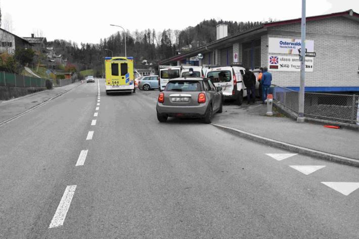 In Flawil SG ist gestern ein Unfall mit Verletzten passiert.