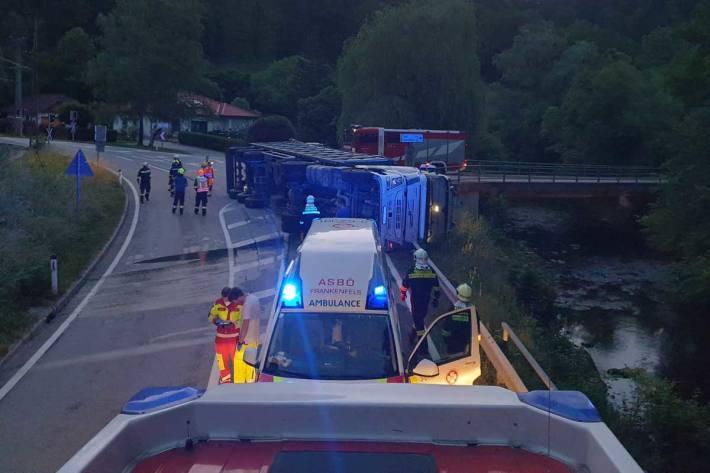 Unfall in Frankenfels