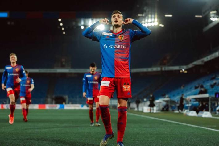 Darian Males wechselte im Februar 2021 leihweise bis Ende Saison vom Genoa CFC zum FC Basel 1893