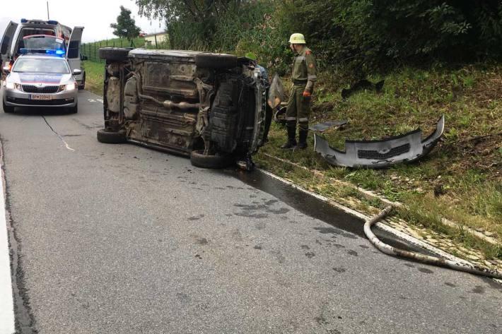 Unfall in Winklern