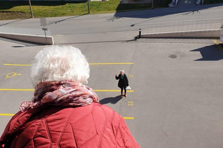 Schrittweise Lockerung in Pflegeheimen im Kanton Fribourg