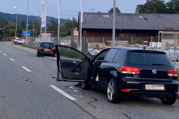 Beim Unfall in Märstetten TG musste eine junge Lenkerin aus dem Auto befreit werden.