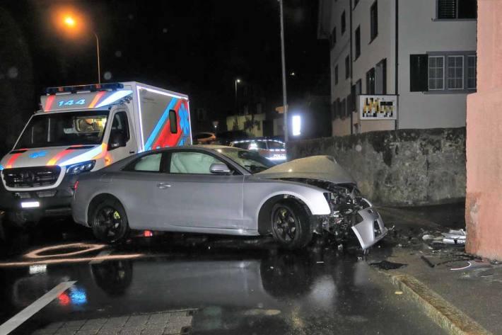 Verkehrsunfall in Bilten