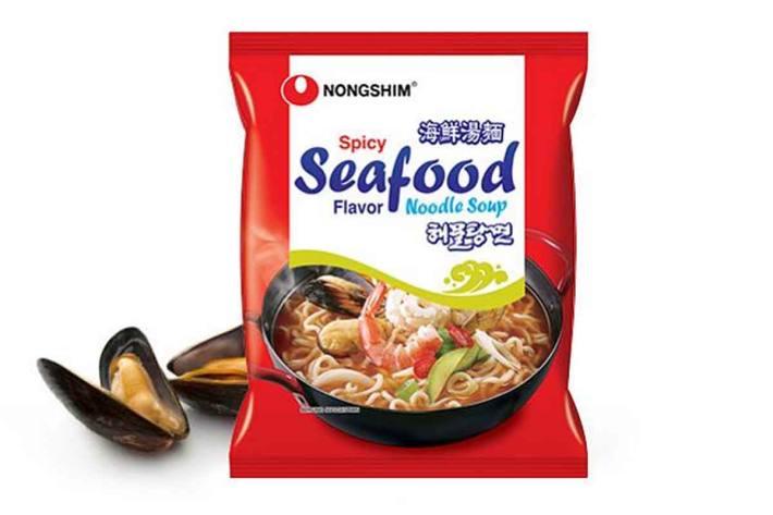 Spicy Seafood Ramyun der Marke Nongshim