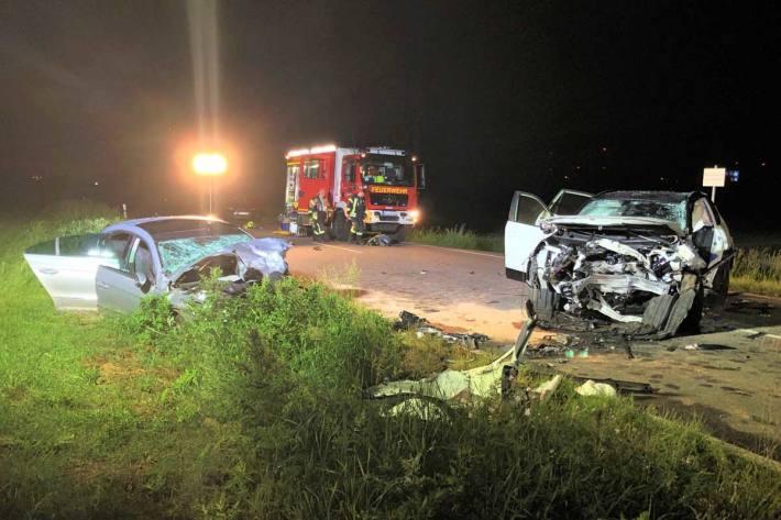 An beiden Fahrzeugen entstand in Worms Sachschaden von ca. 40.000 Euro
