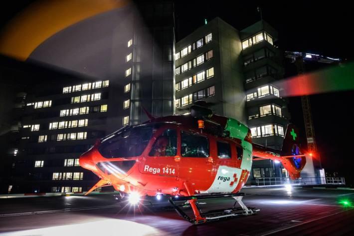 In Ambri TI kam es gestern Abend zu einem schweren Unfall.