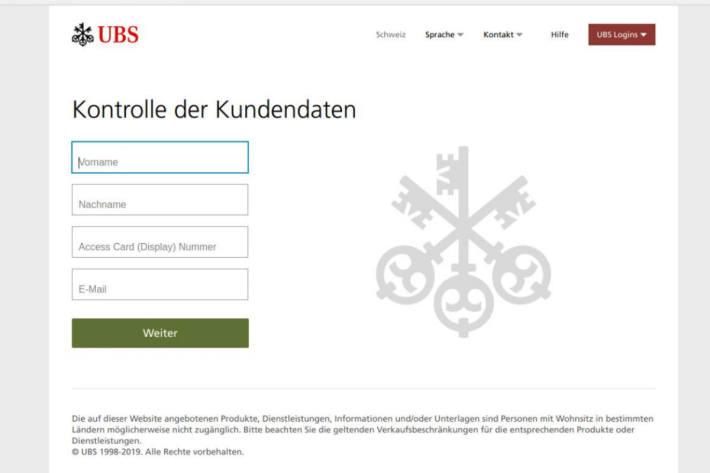 Achtung - Phishing -Betrug hoch im Kurs.
