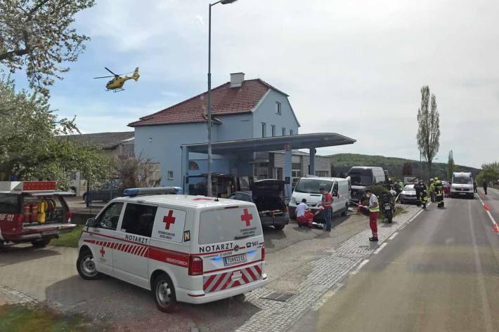 Im Bereich eines Schachtes kam es in Ried am Riederberg zu einer Explosion