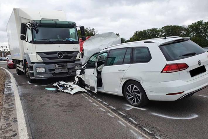 Schwerer Unfall in Düren