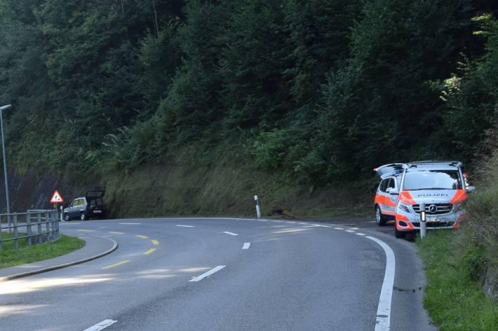 In Hundwil AR kam es gestern zu einem Unfall mit einer 81-jährigen Person.