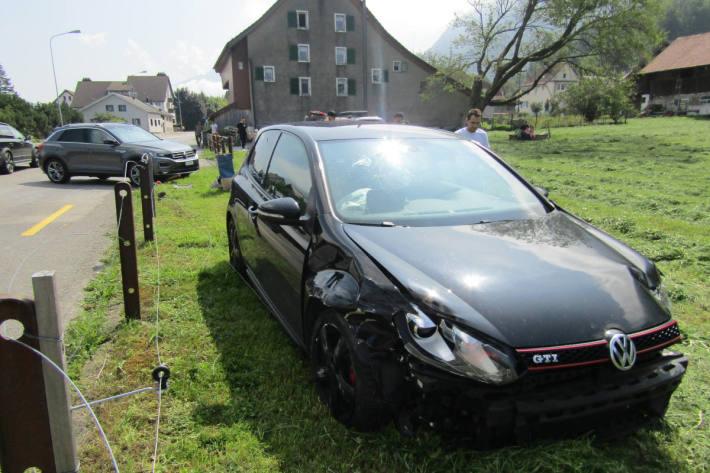 Unfallörtlichkeit in Bilten