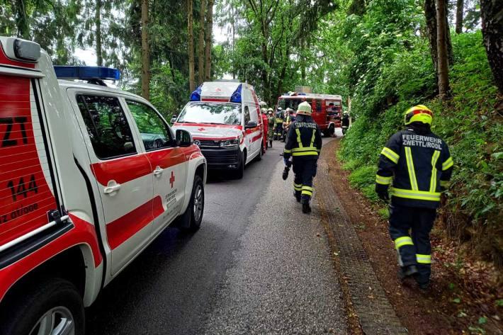 Schwerer Unfall in Eidenberg