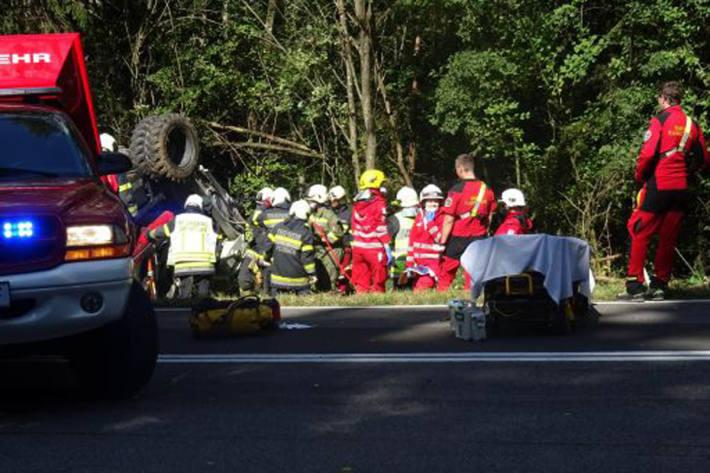 In Riegersburg kam es zu einem Unfall mit einem Bagger